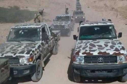 عاجل.. تعزيزات عسكرية من قوات النخبة الشبوانية في مرخة