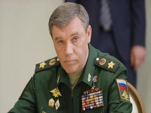 """رئيس """"الأركان الروسية"""" يبحث مع نظيره الأمريكي الوضع في سوريا"""