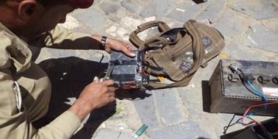 تفكيك عبوة ناسفة كانت تستهدف قوات الحزام الأمني في أبين