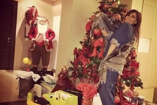 النجمة اللبنانية إليسا تهنئ أقباط مصر بعيد الميلاد المجيد