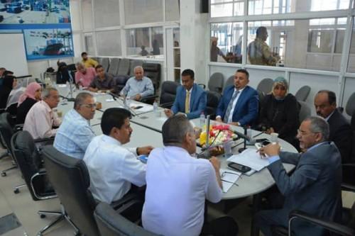 البنك المركزي يدرس إقامة مجمع مالي بالمنطقة الحرة في عدن
