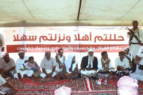 تفاصيل لقاء مشايخ ساحل حضرموت بإخوانهم في الوادي والصحراء