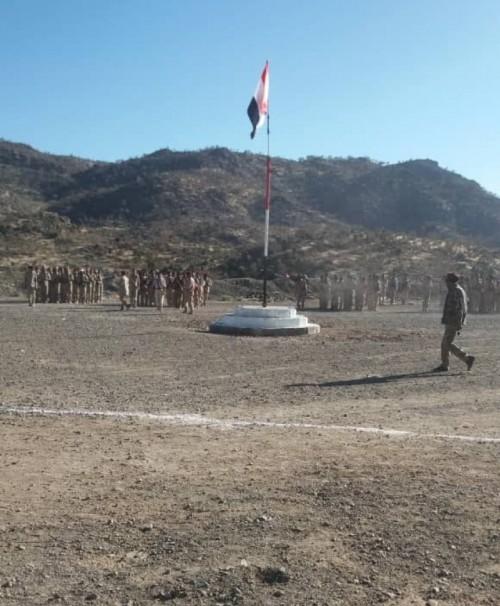 تدشين العام التدريبي القتالي الجديد بمنطقة العود غرب الضالع