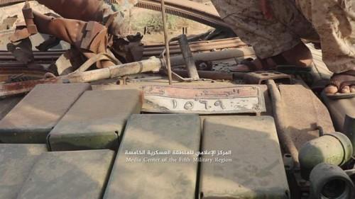 الجيش يتقدم في حرض والتحالف يدمر آليات للمليشيات (صور)
