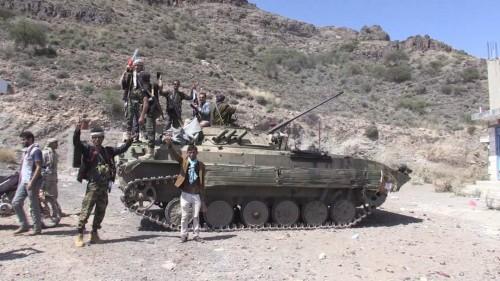 الجيش يعلن تحرير مواقع جديدة في دمت ومقتل 15 حوثيا