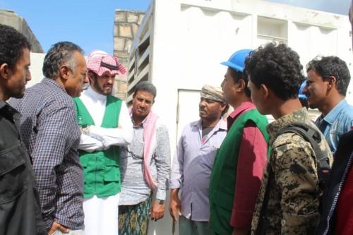 البرنامج السعودي لإعمار اليمن يقدم دعماً لكهرباء حديبو بسقطرى