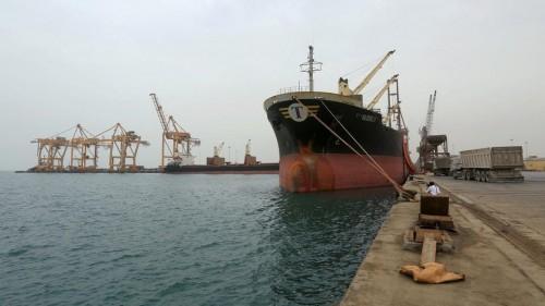التحالف: 3 سفن لا تزال تنتظر دخول ميناء الحديدة