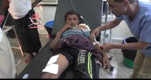 مليشيات الحوثي تواصل قصفها العشوائي لمنازل الأهالي في الحديدة