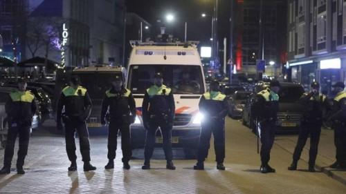 """هولندا.. مظاهرة احتجاجيه أمام السفارة الإيرانية بأمستردام """"فيديو"""""""