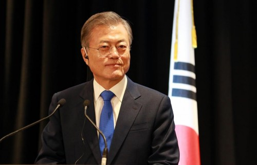 """""""مون جا إن"""" : الطريق ممهد لاستئناف المشاريع الاقتصادية بين الكوريتين"""