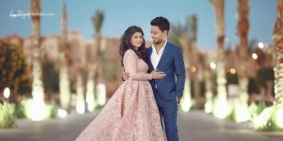 نجوم الغناء يحتفلون بخطوبة أحمد جمال والإعلامية السعودية ديانا الخميس