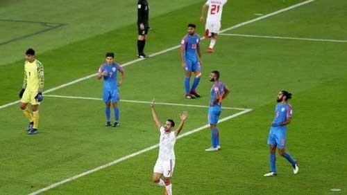 الإمارات تفوز على الهند 2-0 في كأس آسيا