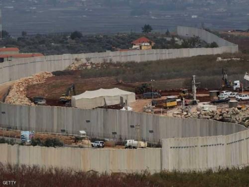 لبنان تعترض على الإنشاءات الإسرائيلية لبناء الجدار العازل بأراضيها