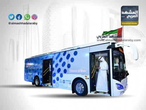 بالتفاصيل.. الحافلة الكهربائية التي تم تطوريها في دولة الإمارات العربية المتحدة (إنفوجراف)