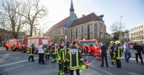 الشرطة الألمانية تخلي ثلاث محاكم بعد إنذار بوجود قنابل