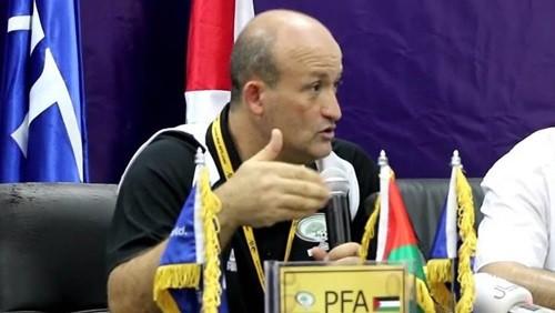 مدرب فلسطين: لم نكن نستحق الخسارة من أستراليا