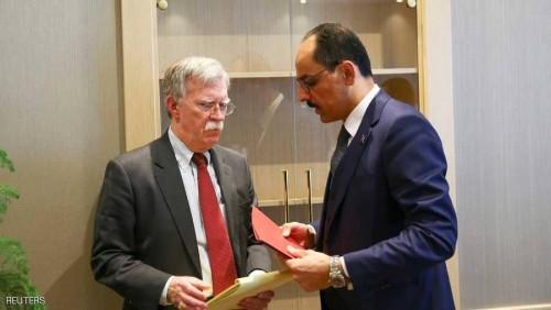 بولتون: المحادثات بين أمريكا وتركيا مستمرة بشأن الأكرد