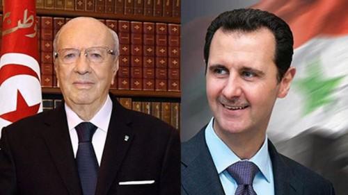 تونس توجه دعوة لبشار الأسد لحضور القمة العربية