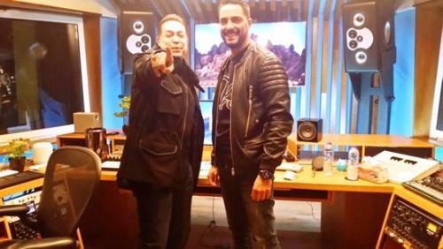 حكيم يكشف عن تعاونه مع مطربة عالمية في أغنيته الجديدة