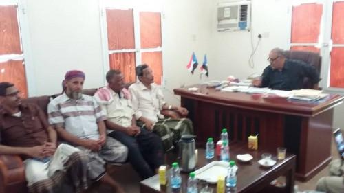 بن الشيخ أبوبكر يناقش خطة نشاطات القيادة المحلية لانتقالي شبام (تفاصيل)