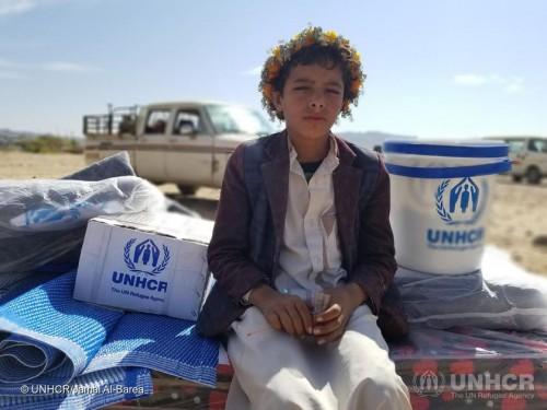 مفوضية اللاجئين: 2 مليون يمني يعانون الأمرين للتأقلم مع النزوح