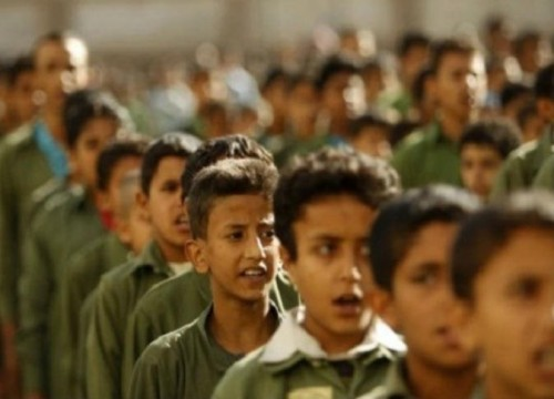 إضراب شامل في مدارس عمران بسبب الحوثيين
