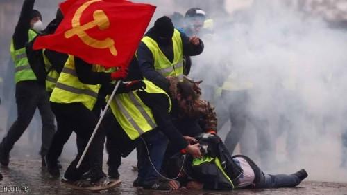 فرنسا.. 84 ألف شخص خرجوا في احتجاجات السترات الصفراء الأخيرة