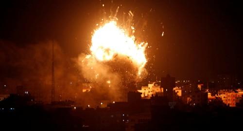 بغارة جوية.. القوات الإسرائيلية تستهدف البنية التحتية لحماس بغزة