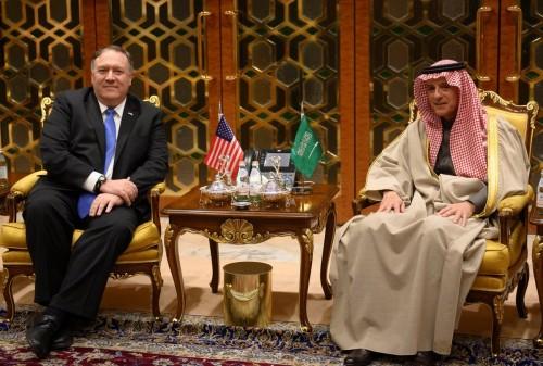 وزير الشئون الخارجية السعودي يستقبل نظيره الأمريكي