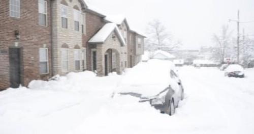 بسبب العواصف الثلجية.. مصرع 7 أشخاص بشرق الولايات المتحدة