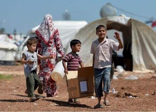 """شاهد.. إنجازات حملة """" مع اللاجئين """" في نشر الخطاب الإيجابي"""