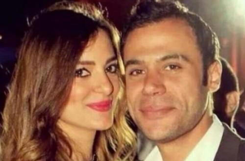 النجم محمد إمام يبعث رسالة حب لزوجته.. فما هي؟