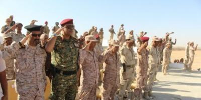 تدشين العام التدريبي والقتالي باللواء 37 مدرع في حضرموت