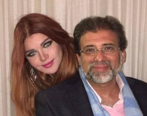 حقيقة زواج المخرج خالد يوسف من ياسمين الخطيب (القصة الكاملة)