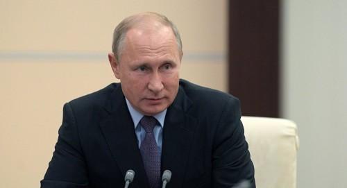 بوتن يجتمع برئيس زيمبابوي لبحث تطوير العلاقات بين البلدين