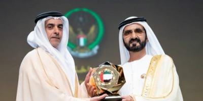 بن راشد يكرم الفائزين بجوائز التميز الحكومي