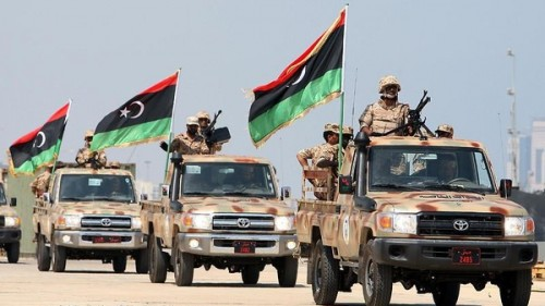 """الجيش الليبي يعلن إطلاق عملية """"شاملة"""" لتطهير الجنوب من الإرهاب"""