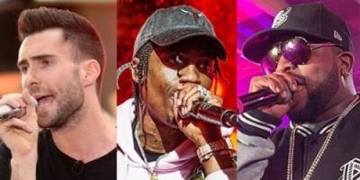 الفريق الأمريكي Maroon 5 يشارك في حفل Super Bowl half-time show