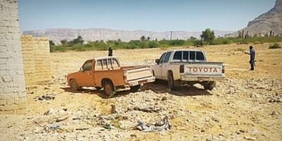 أمن حضرموت يعيد سيارتين مسروقتين في سيئون