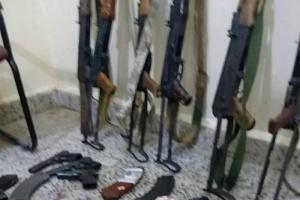 القبض على عصابة مسلحة عقب استيلائها على أرض خاصة بجعولة