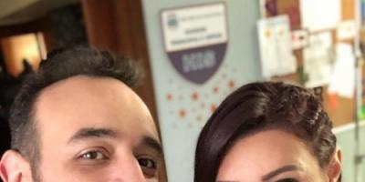 """""""طليقتي في الدراما"""".. المخرج عمرو سلامة ينشر صورته بصحبة آروى جودة"""