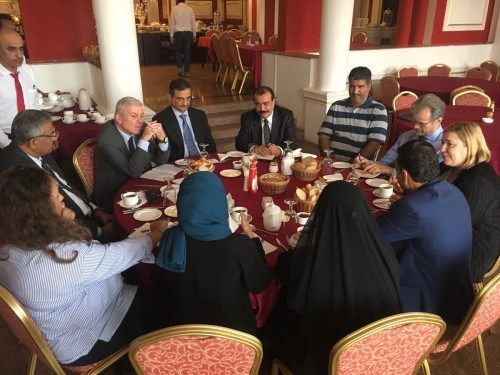 بن فريد يشيد بمبادرة الاتحاد الأوروبي في عدن