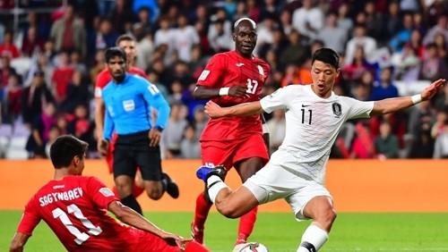 كوريا الجنوبية تفوز على الصين ويتأهلان معاً إلى دور الـ16
