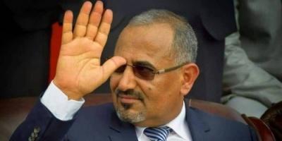 رئيس الانتقالي الجنوبي يصل العاصمة عدن
