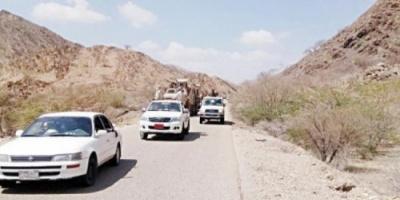 الحزام الأمني يوجه ضربات موجعة لعناصر القاعدة بأبين ويجبرها على الفرار باتجاه الجبال