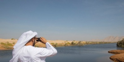 بن زايد يطلع على الأعمال الإنشائية في مواقع مدينة العين (صور)