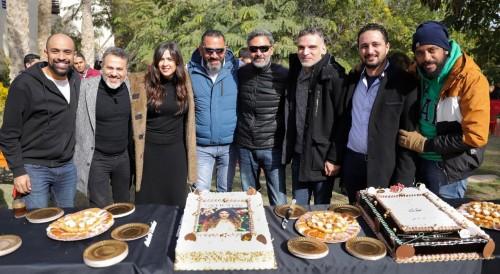 """بالصور.. ياسمين عبد العزيز تواصل تصوير مسلسلها الجديد """"الملكة"""""""