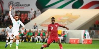 قطر تفوز على السعودية 2-0 في كأس أمم آسيا