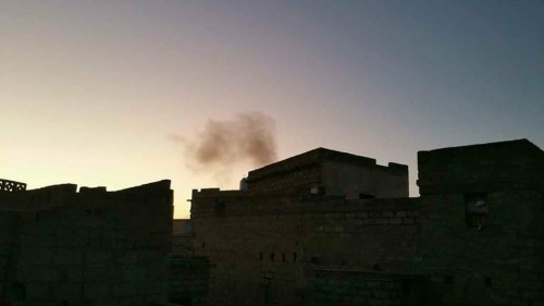 مصادر: انفجار قوي في إحدى مديريات محافظة أبين