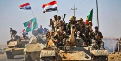 """القوات العراقية تستهدف مواقع لـ """" داعش """" داخل سوريا"""